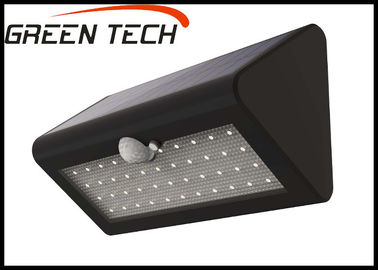 China IP65 ABS Outdoor Solar LED Wall Light For Garden Lighting 4W 2700K - 6500K supplier