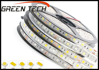 China Single Color LED Strip Lights Outdoor Use , 120leds/m Warm White LED Strip supplier