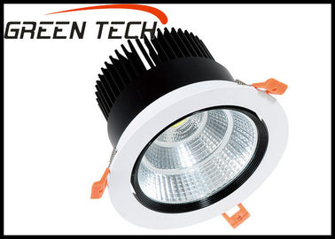 China Embedded Ceiling LED Down Light With Reflector 24 Degree / 38 Degree / 60 Degree supplier