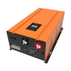 China 50hz / 60hz Solar Panel Inverter For Home , Yellow Pure Sine Wave Inverter supplier