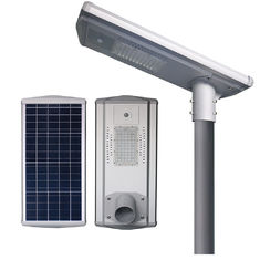 China All - In - One IP65 Integrated Solar Street Light Poly PV Module 6600lm - 7200lm supplier