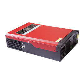 China LCD Display Silver Solar Power Inverter , 48V 5000W Pure Sine Wave Inverter distributor