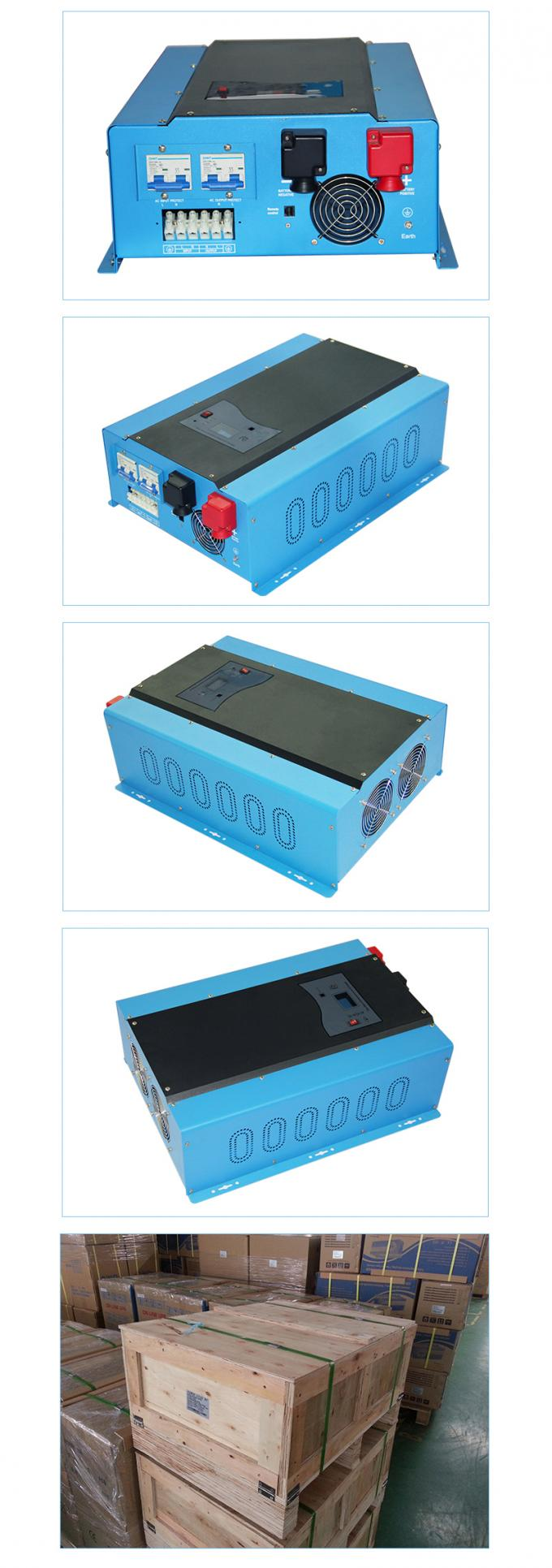 12000 watts 96Vdc pure sine wave power inverter with LCD display