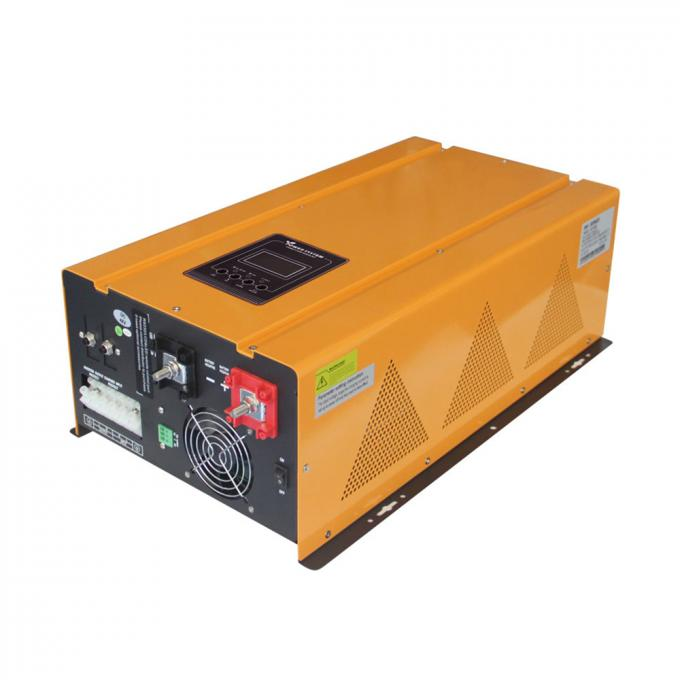 LED / LCD Display Yellow Solar Inverter Smart Battery Charger Design