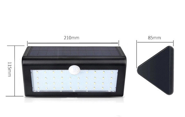 4 Watt Solar Powered Garden Lights , ABS IP65 Solar Powered Security Lights